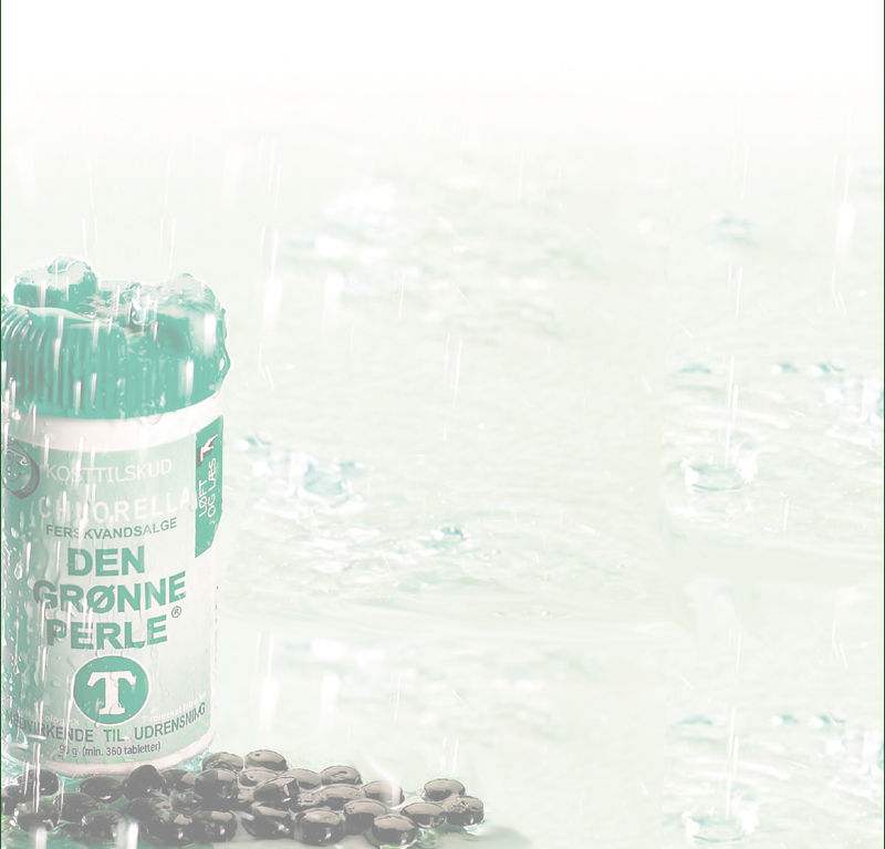 Chlorella pulver eller tabletter