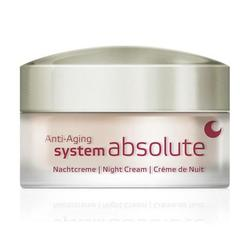 Annemarie Borlind Night Cream anti age System Absolute, 50ml.