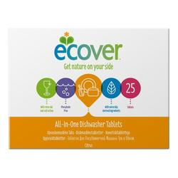 Ecover opvasketabs all in one, 25tab.