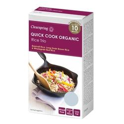 Clearspring Quick Cook Ris trio Ø, 250g.