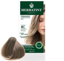 Herbatint 8C hårfarve Light Ash Blonde, 150ml.