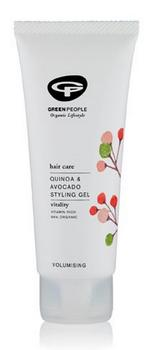 Greenpeople Styling gel quinoa & avocado, 100ml.