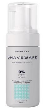 Barberskum normal hud ShaveSafe, 100ml.