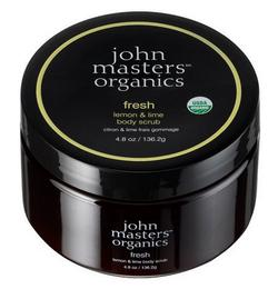 John Masters Bodyscrub Fresh Lemon & Lime, 136g.