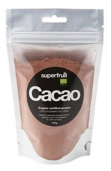 Cacao pulver raw Ø Superfruit, 150g.