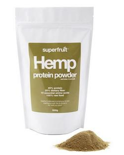 Hamp protein pulver (hemp powder) Superfruit, 500g.