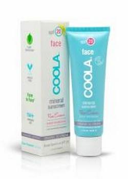 COOLA Face SPF 20 Tinted Rose, 50ml.