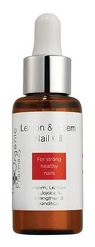 The Organic Pharmacy Lemon & Neem Nail Oil, 30ml.