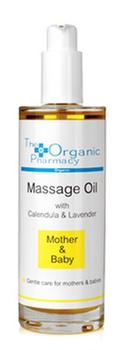 The Organic Pharmacy Mother & Baby Massage Oil, 100ml.