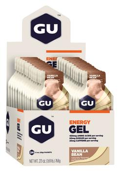 GU Energy Gel Vanilla Bean, 24stk.