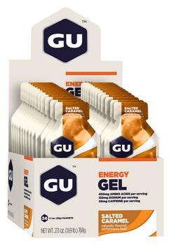 GU Energy Gel Salted Caramel, 24stk.