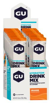 GU Energy Hydration Drink Mix Orange Stick, 24stk.