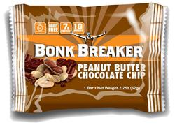 Bonk Breaker Energy Bar Peanutbutter & Chocolate Chip, 12stk.