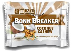 Bonk Breaker Energy Bar Coconut Cashew, 12stk.