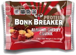 Bonk Breaker Protein Bar Almond Cherry Chunk, 1stk.