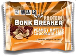 Bonk Breaker Protein Bar Peanut Butter & Chocolate Chip, 1stk.