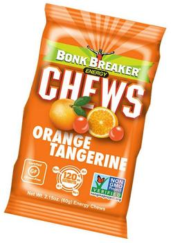 Bonk Breaker Energy Chews Orange Tangerine, 10stk.