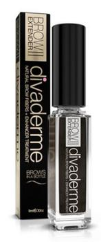 Divaderme Brow Extender II Espresso Brown, 9ml.