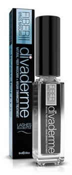 Divaderme Fiber Wings II Mascara Black, 9ml.