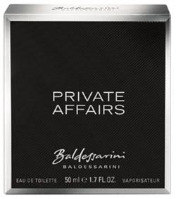 Baldessarini Private Affairs EDT Spray, 50ml.