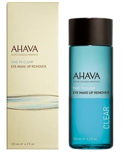 Ahava Eye make-up remover, 125ml.