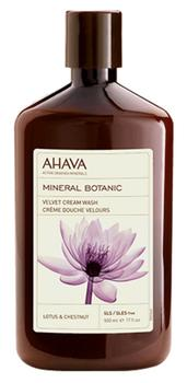 Ahava Mineral Botanic Cream Wash Lotus & Kastanje, 500ml.