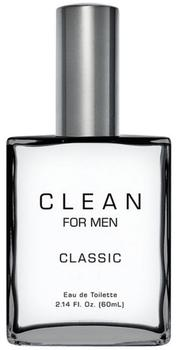 CLEAN Men Classic Edt, 60ml.