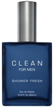 CLEAN Shower Fresh for Men Edt, 60ml.