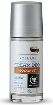 Urtekram Deo cream roll on coconut, 50ml.