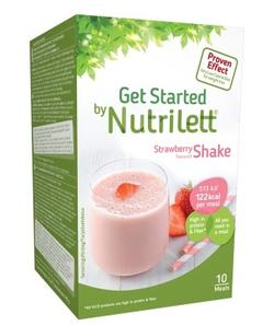 Nutrilett VLCD Strawberry shake 10 pk