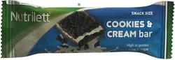 Nutrilett Snack Bar Cookie/Cream, 30g.