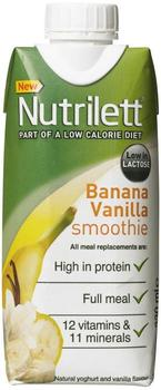 Nutrilett Banan & Vanilie Smoothie, 330ml.