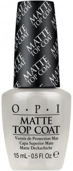 OPI Matte Top Coat, 15ml.