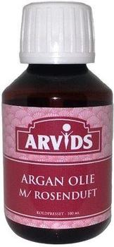 Arvids Argan olie m. rose, 100ml.