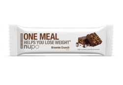 Nupo One Meal Bar Brownie Crunch, 60g. 1stk.