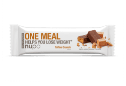 Nupo One Meal Bar Toffee Crunch, 60g. 1stk.
