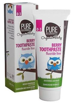 Pure Beginnings Berry toothpaste 0-3 år, 75ml.