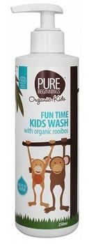 Pure Beginnings Fun time kids wash, 250ml.