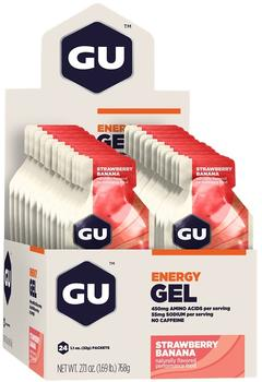 GU Gel Strawberry/Banana, 24stk.
