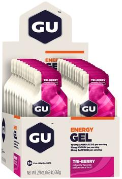 GU Energy Gel Triberry, 24stk.