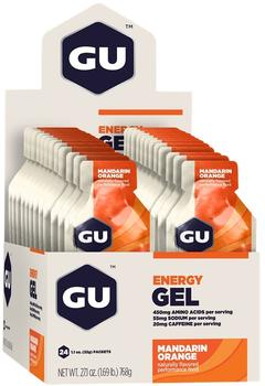 GU Gel Mandarin Orange, 24stk.