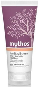 Mythos Hand & nail cream olive + shea butter, 100ml.
