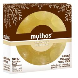 Mythos Natural massage scrub soap calendula & loofah