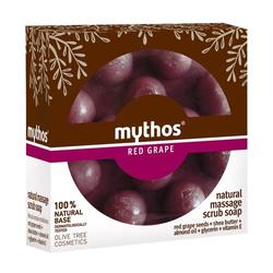Mythos Natural massage scrub soap red grape