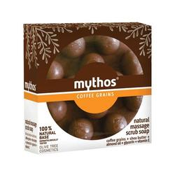 Mythos Natural massage scrub soap cofee grains
