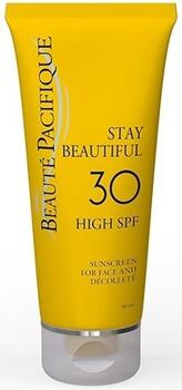 Beauté Pacifique Solcreme til ansigtet 30 SPF Stay Beautiful, 50ml.