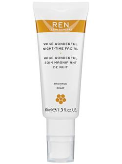 REN Wake Wonderful Night Facial