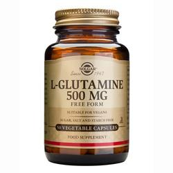 Solgar L-Glutamin 500mg vegicaps, 50 kaps.