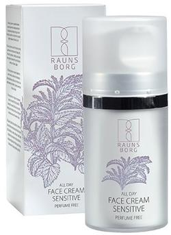Raunsborg All day face cream sensitiv, 50ml.