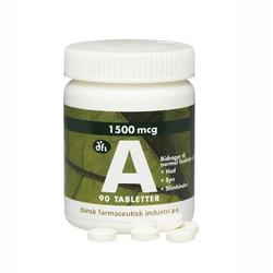 A vitamin 1500 mcg/5000 ie 90 tabl.